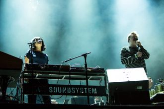 LCD Soundsystem // Photo by Philip Cosores