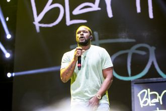 Schoolboy Q // Photo by Philip Cosores