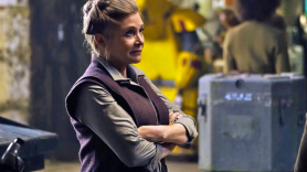 Carrie Fisher as General Leia