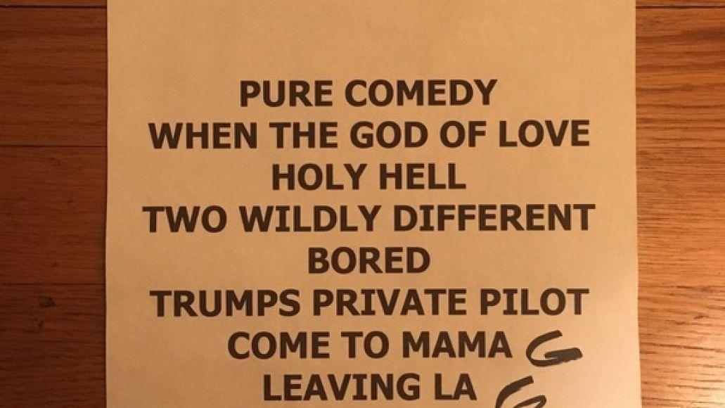 fjm set Father John Misty previews new album at Seattle benefit concert