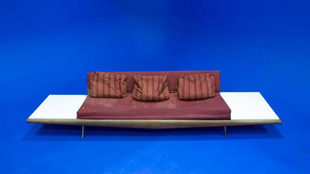 jack white couch 2 Jack White came out of retirement to reupholster a record studios couch