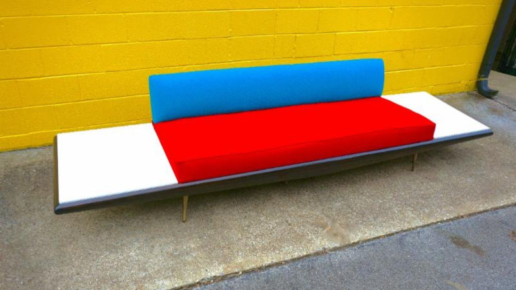 jack white couch 3 Jack White came out of retirement to reupholster a record studios couch