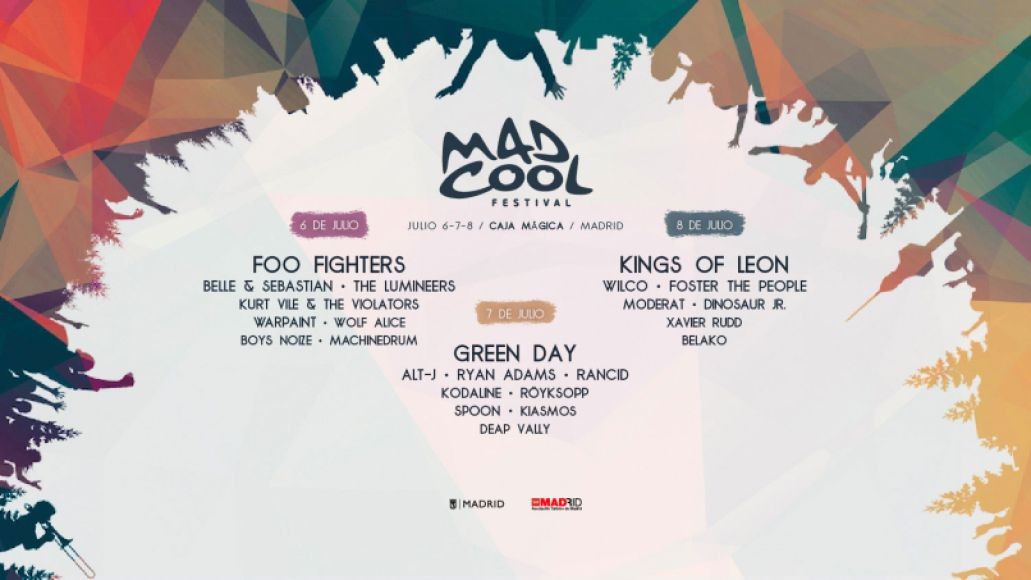 mad cool festival Top 10 Music Festivals: Winter 2017 Power Rankings