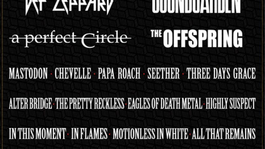 unnamed 1 Soundgarden, A Perfect Circle to headline Carolina Rebellion 2017