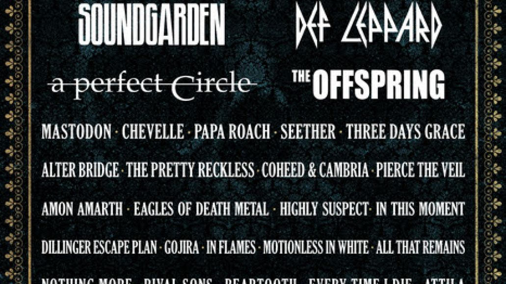 unnamed 2 Soundgarden, A Perfect Circle to headline Carolina Rebellion 2017