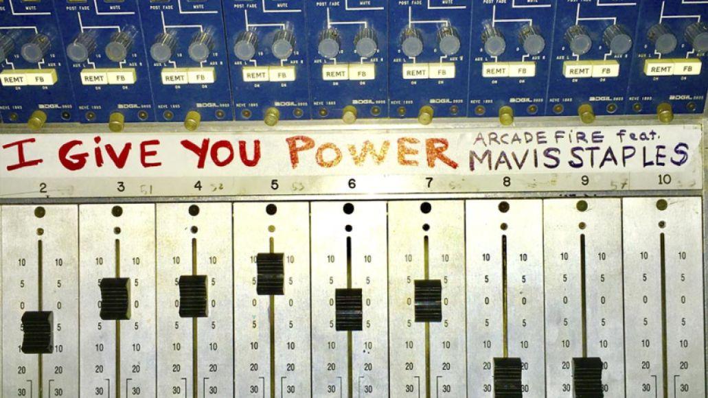 arcade fire mavis Arcade Fire make their glorious return with I Give You Power    listen
