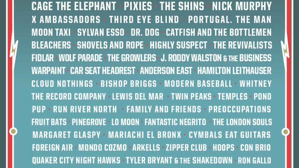 knees 2017 lineup poster Win tickets to Shaky Knees Music Festival 2017