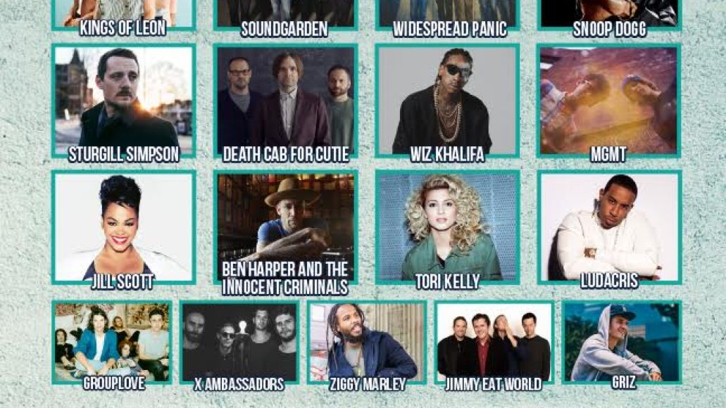 222 beale Beale Street Music Festival reveals 2017 lineup: Soundgarden, Kings of Leon, MGMT, and more
