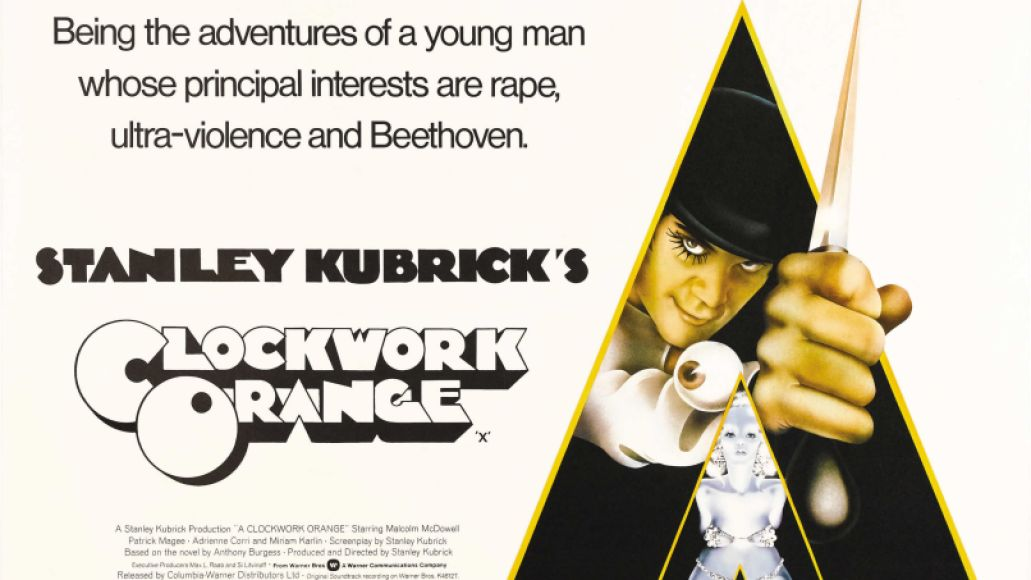 a clockwork orange poster goldposter com 43 10 Iconic Films That Never Won a Single Oscar