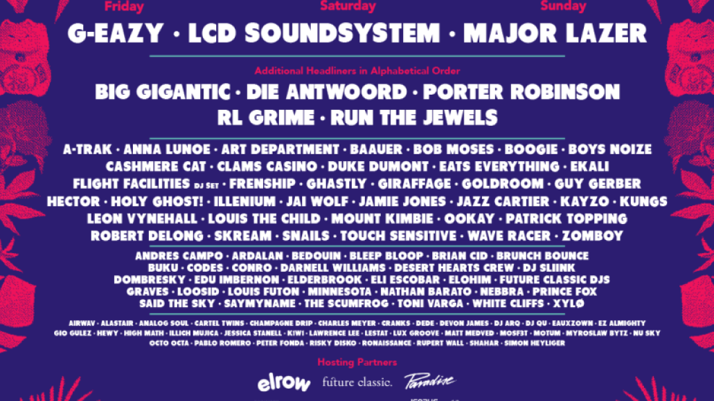 mysteryland usa Mysteryland USA reveals 2017 lineup: LCD Soundsystem, Run the Jewels, Die Antwoord, and more
