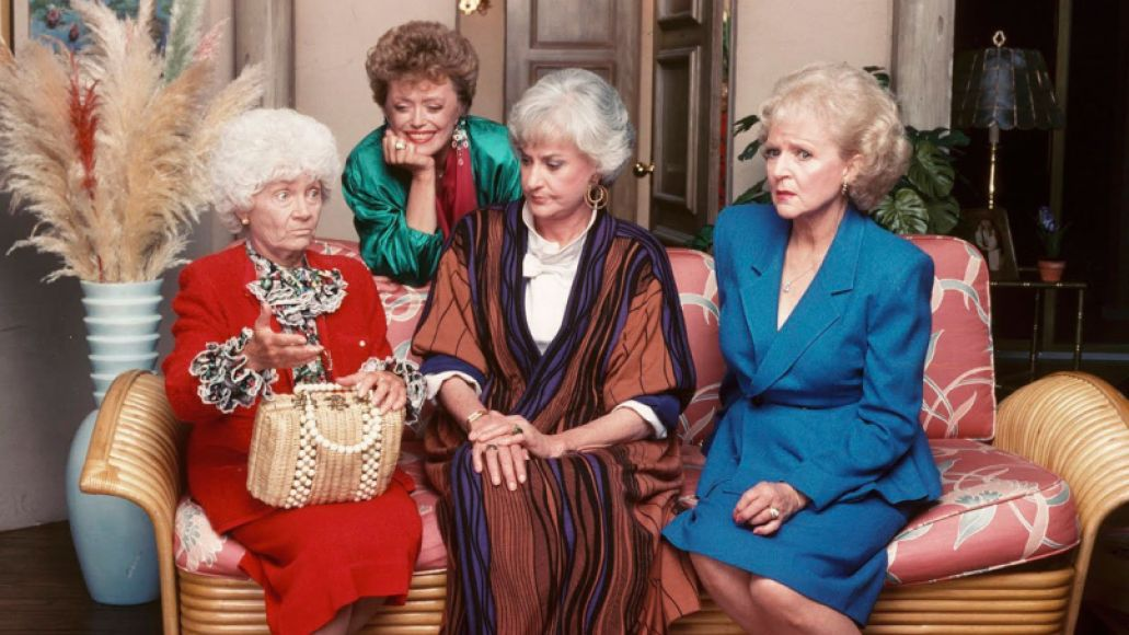 golden girls cast with sophia ftr Five TV Shows Actually Worth Bringing to the Big Screen