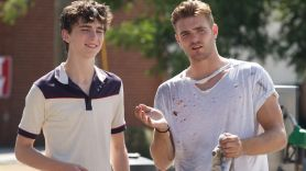 Timothée Chalamet and Alex Roe in Hot Summer Nights