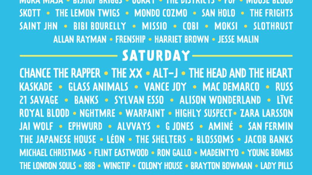 lollapalooza 2017 Lollapalooza reveals 2017 lineup