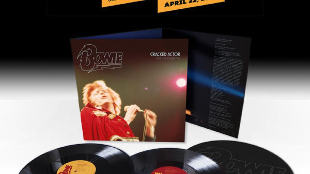 rsd cracked actor 1000sq Rare and unreleased David Bowie albums coming for Record Store Day
