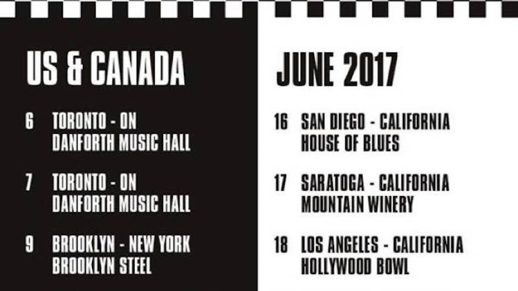 the specials 2017 tour dates The Specials announce North American tour