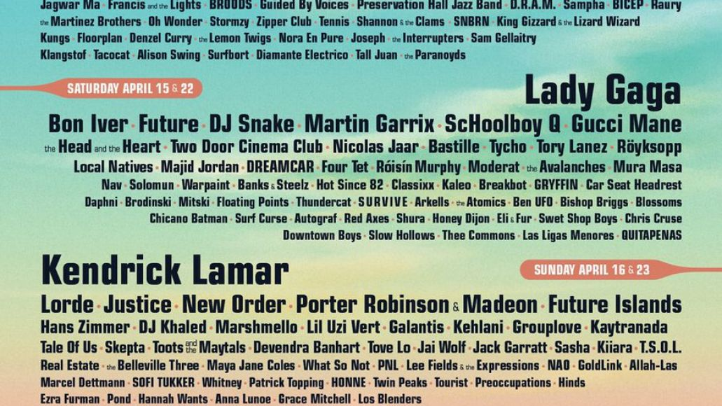 coachella 2017 The Best of the Tiny Fonts in Coachellas 2017 Lineup