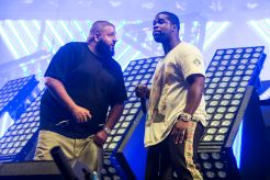DJ Khaled and ASAP Ferg // Photo by Philip Cosores