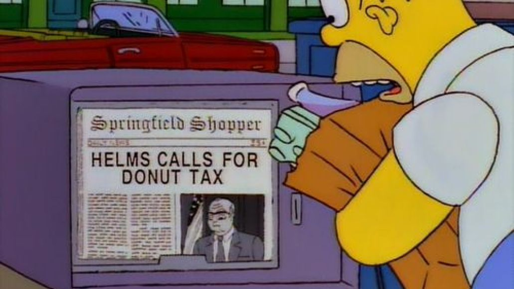 donut tax He Put the Spring in Springfield: A Conversation with The Simpsons Composer Alf Clausen