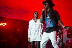 Future and Ty Dolla Sign // Photo by Philip Cosores