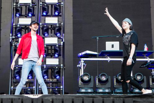 Porter Robinson and Madeon // Photo by Philip Cosores