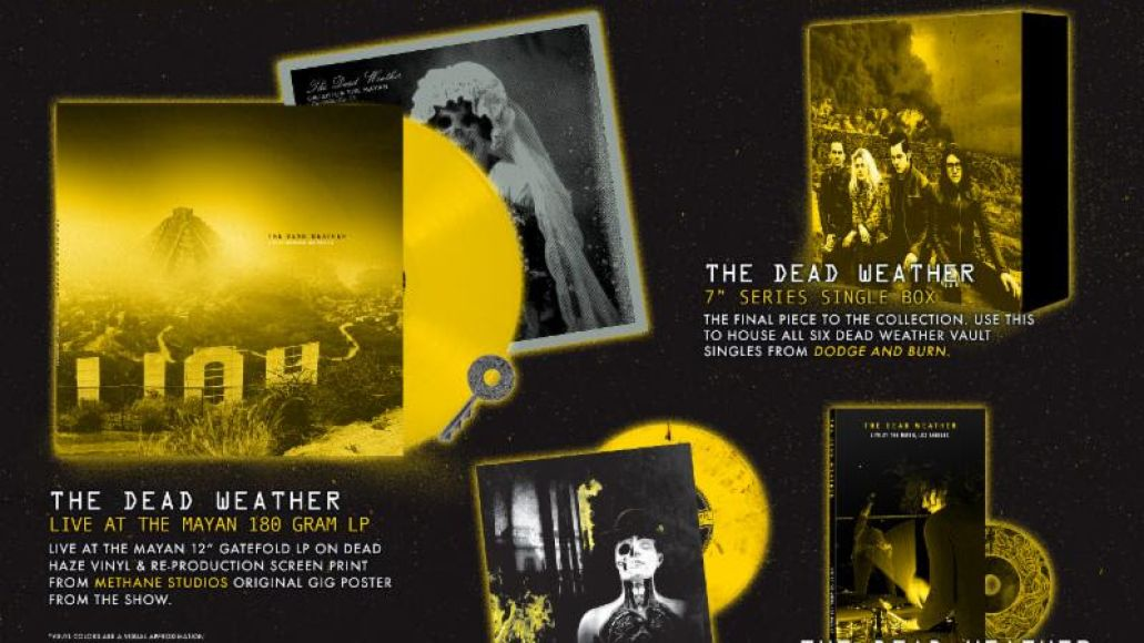 unnamed 6 Jack White announces new live album from The Dead Weather