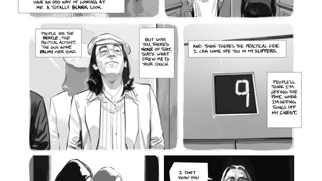 002 Graphic novel recounting John Lennons New York years previewed in new trailer    watch