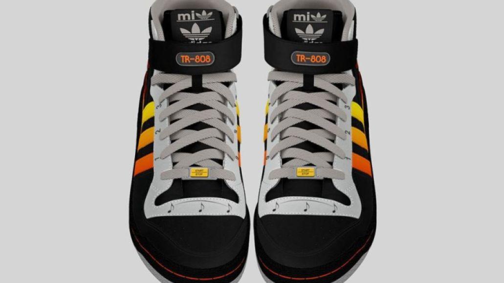 adidas tr 808 prototype 2 This adidas shoe design has a  Roland TR 808 drum machine built right in