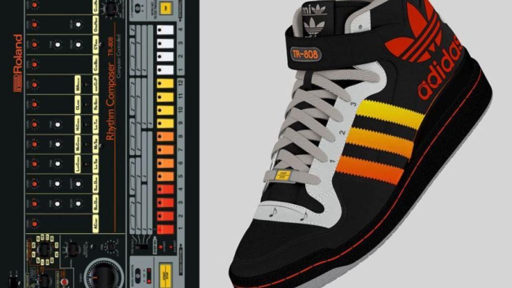 adidas tr 808 prototype 3 This adidas shoe design has a  Roland TR 808 drum machine built right in