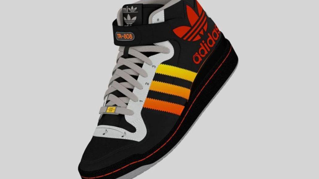 adidas tr 808 prototype 5 This adidas shoe design has a  Roland TR 808 drum machine built right in