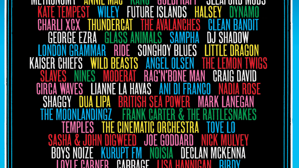 glastonbury 2017 Glastonbury reveals full 2017 lineup and it boasts well over 1,000 acts