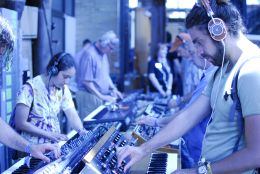 Moog Pop Up Factory // Photo by Cap Blackard