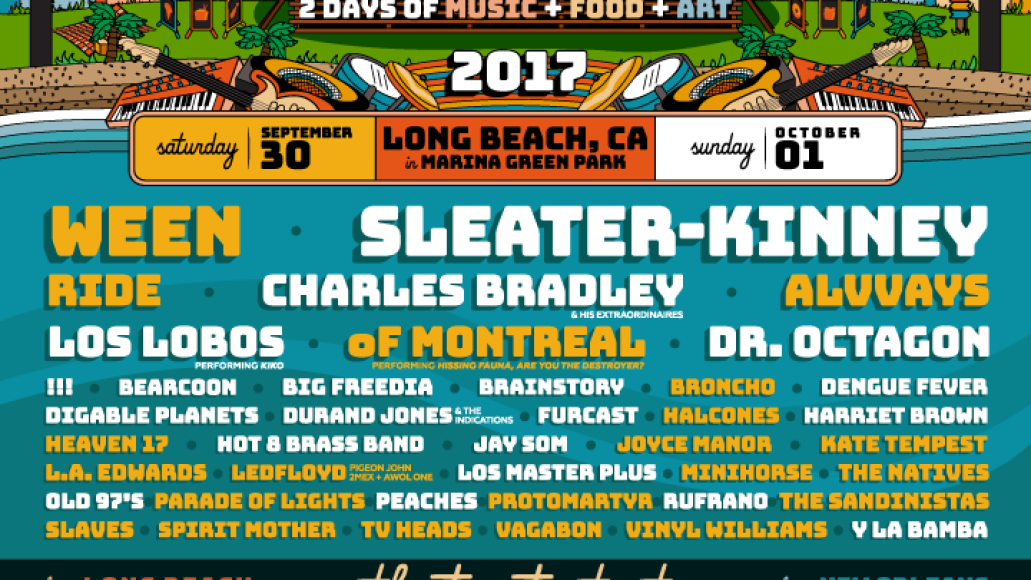 music tastes good1 Ween, Sleater Kinney, Ride, and more to play Music Tastes Good Festival 2017