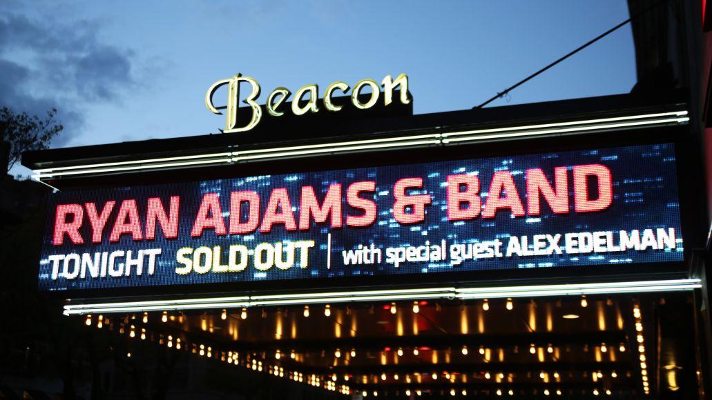 ryan adams killian young 2 Live Review: Ryan Adams at New Yorks Beacon Theatre (5/2)