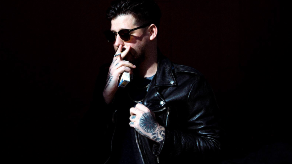 Wavves' Nathan Williams, photo by Gilles O'Kane