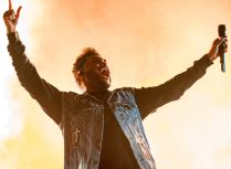 The Weeknd // photo by David Brendan Hall
