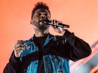 The Weeknd, photo by David Brendan Hall
