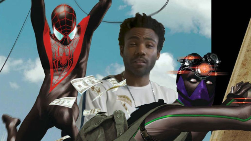donadl glover prowler A Geeks Guide to All the Easter Eggs in Spider Man: Homecoming