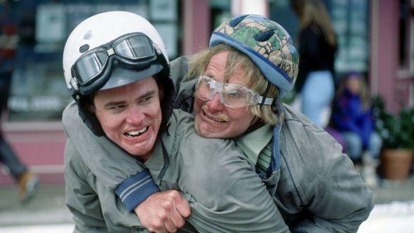 Jeff Daniels and Jim Carrey Dumb and Dumber