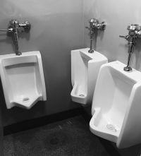 """""""Very friendly urinal"""""""