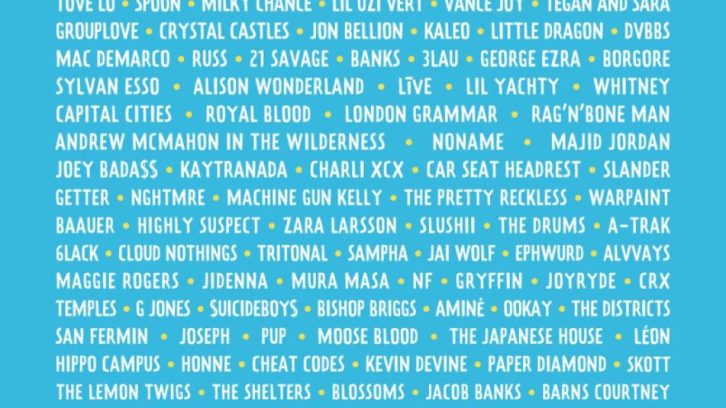 lolla 2017 Ranking: Every Lollapalooza Lineup from Worst to Best