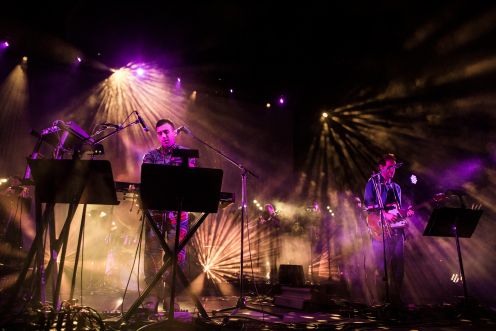 Planetarium ft. Sufjan Stevens, Nico Muhly, Bryce Dessner and James McAlister // Photo by Philip Cosores