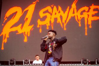 21 Savage // Photo by Philip Cosores