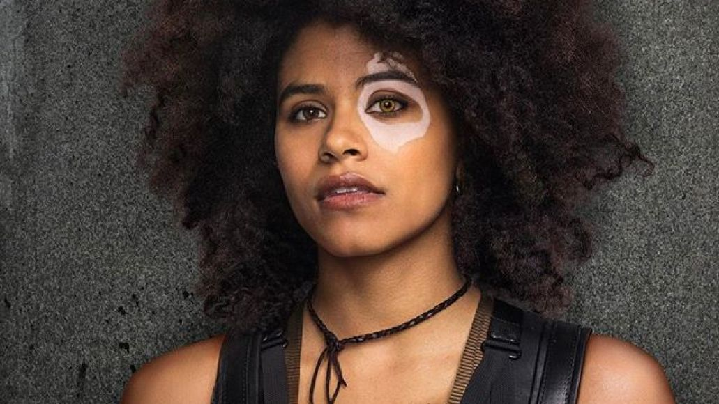 domino deadpool 2 Heres your first look at Josh Brolin as Cable, Zazie Beetz as Domino in Deadpool 2