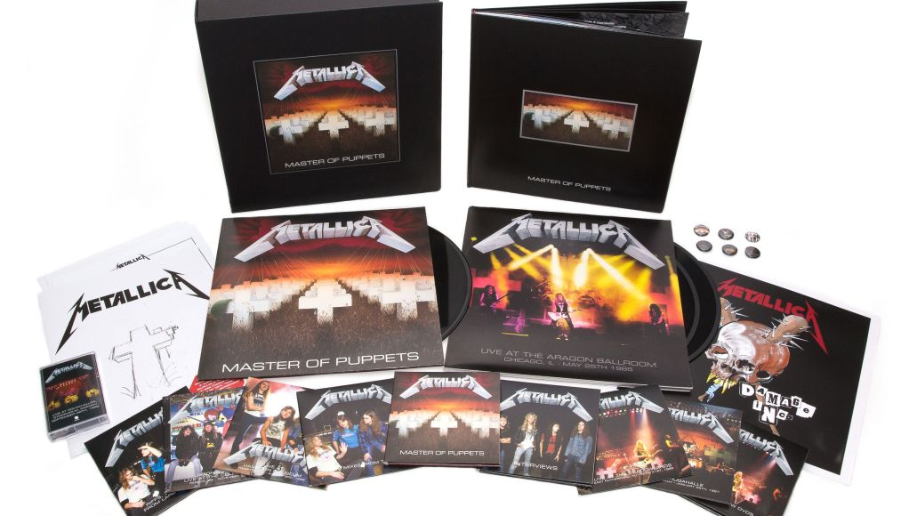 Metallica release mammoth Master of Puppets box set: Stream/download