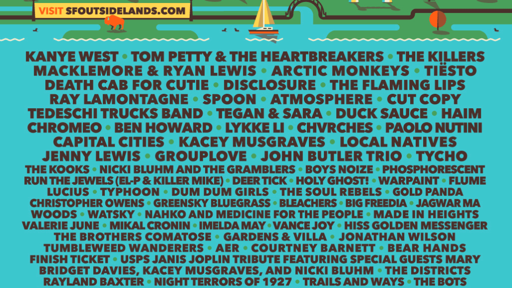 ol lineup 14 The Pride of San Francisco: Outside Lands Turns 10