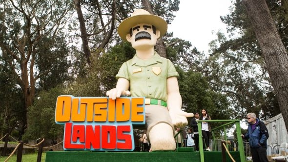 Outside Lands, photo by Philip Cosores