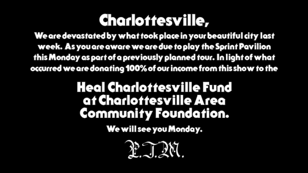 port e1503173119149 Portugal. The Man to donate all profits from upcoming Charlottesville concert