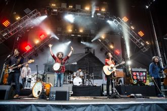 The Avett Brothers // Photo by Philip Cosores