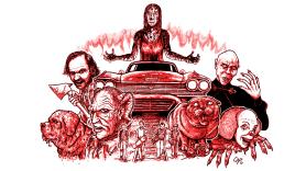 Stephen King Adaptations, artwork by Cap Blackard