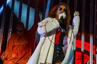 M.I.A. // Photo by Lior Phillips